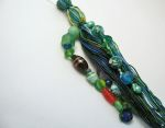Koi Pond Beaded Tassel Back
