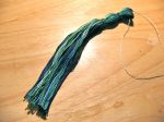 Koi Pond Tassel Tied Off