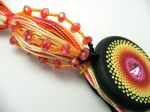 Sunrise Beaded Tassel Front