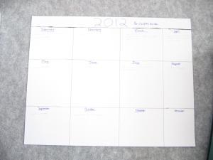 Goal Calendar